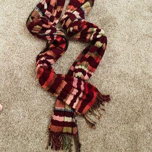 Multi colored scarf